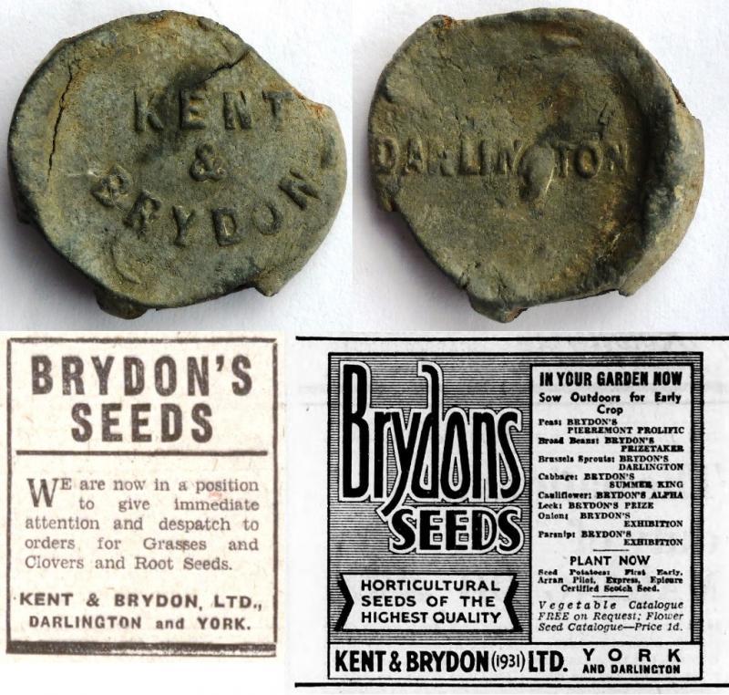 Seed Merchants, Kent & Brydon, Darlington
